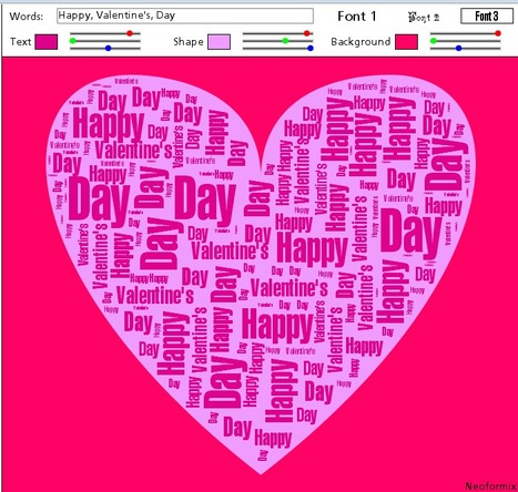 Word Hearts | Friday Fun for Elementary Education Students | Scoop.it