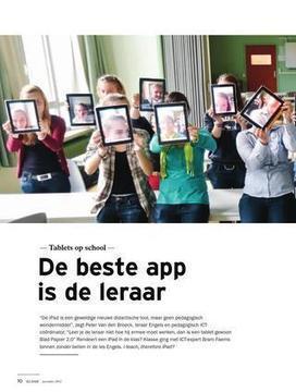 Tablets op school: de beste app is de leraar – Klasse | iPad integration in de science lessons | Scoop.it