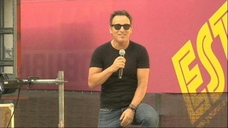 """The Boss is back"" - iTélé | Bruce Springsteen | Scoop.it"