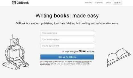 GitBook, para crear libros digitales de forma sencilla   Educacion, ecologia y TIC   Scoop.it