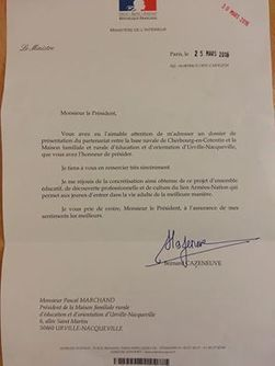 Il y a 2 semaines, nous avons envoyé un... - Mfr Urville Nacqueville   Facebook   LES MFR DE LA MANCHE dans la presse et le Web   Scoop.it