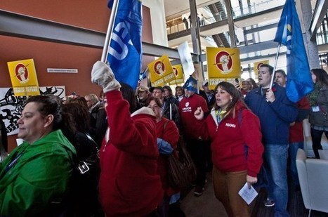 NS: Protestors storm NS Power headquarters over possible outsourcing - Daily Business Buzz - Nova Scotia | Do the benefits of outsourcing labour in developing countries outweigh the disadvantages | Scoop.it