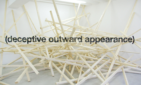 Ole Martin Lund Bø / (Deceptive Outward Appearance), 2007 | CRAW | Scoop.it