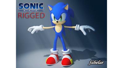 Sonic the Hedgehog cartoon   3D Library   Scoop.it