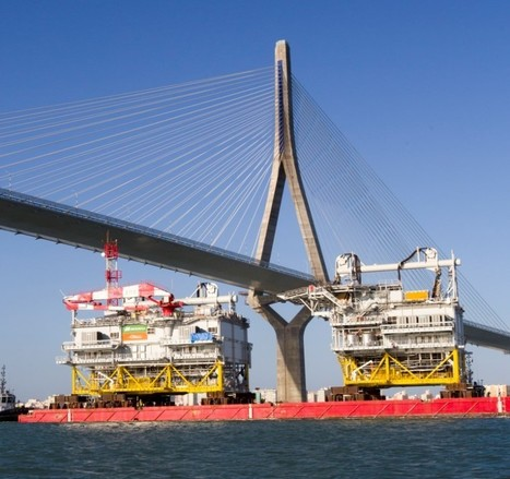 Massive Substation 'Andalucía' Sets Sail For 350 MW German Offshore Wind Farm | Technology and the Environment | Scoop.it