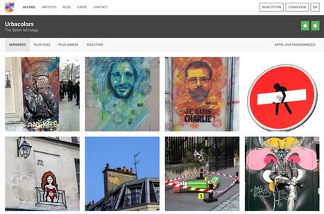 Urbacolors, le réseau social dédié à la découverte du Street Art | Instantanés | Scoop.it