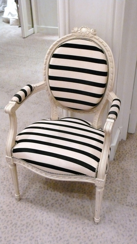 7 Quick Tips For Using Striped Furniture   Designing Interiors   Scoop.it