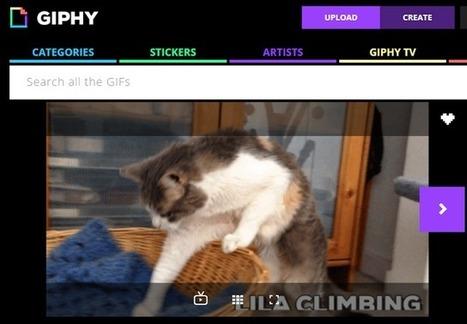 [outils] Giphy lance GIF Maker pour créer un GIF animé à partir d'une vidéo | Geeks | Scoop.it