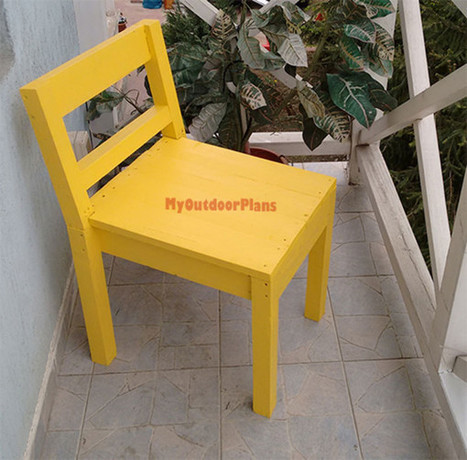 Garden Chair | Free Outdoor Plans - DIY Shed, Wooden Playhouse, Bbq, Woodworking Projects | Garden Plans | Scoop.it