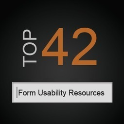 The Form Usability Treasure Trove: 42 Top Resources   UserTesting.com   Content strategy and UX   Scoop.it