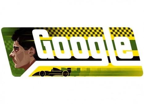 Un doodle per il suo compleanno: così Google ricorda Ayrton Senna | Motori | Scoop.it