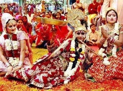 Tonalidades Santas de Radha Krishna - Brij Mahotsav, Bharatpu | viagem para india | Scoop.it