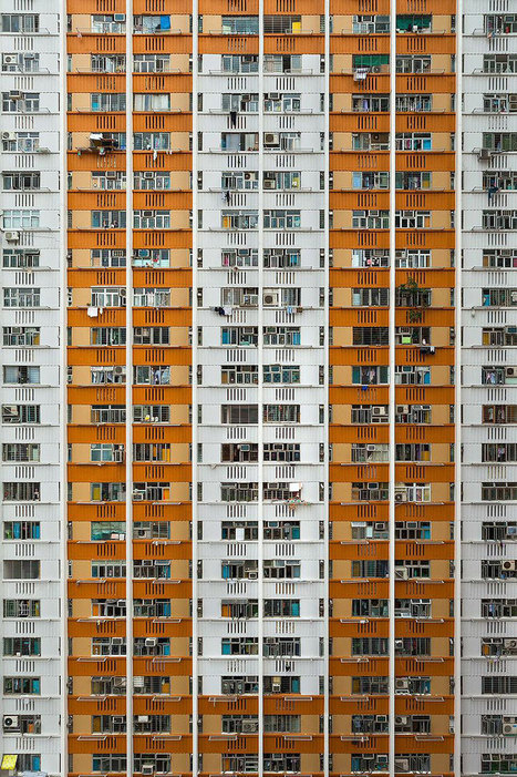 Looking Up In Hong Kong: The Overwhelming Symmetry Of This Metropolis' Highrises | ART  | Conceptual Photography & Fine Art | Scoop.it