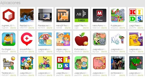 Las TIC y su utilización en la educación : 10 apps de realidad aumentada para actividades con celular en la escuela | iEduc@rt | Scoop.it