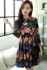 Floral Pleated A-line Dress - OASAP.com | Oasap street fashion | Scoop.it