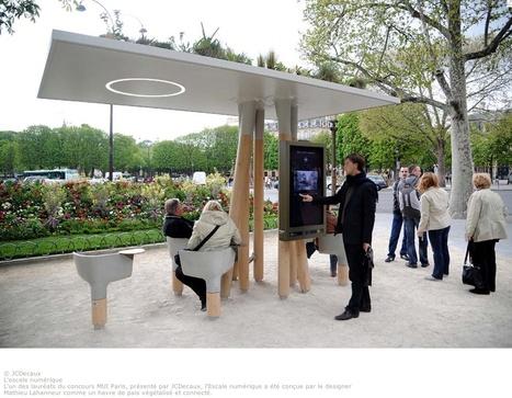 #Lavilledemain : Affichage urbain : un nouveau média au coeur de la ville. | Innovation dans l'Immobilier, le BTP, la Ville, le Cadre de vie, l'Environnement... | Scoop.it