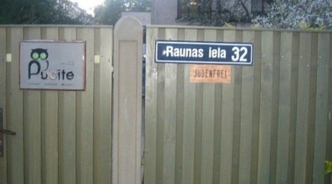 "Latvian School Features ""Jew-Free"" Sign 