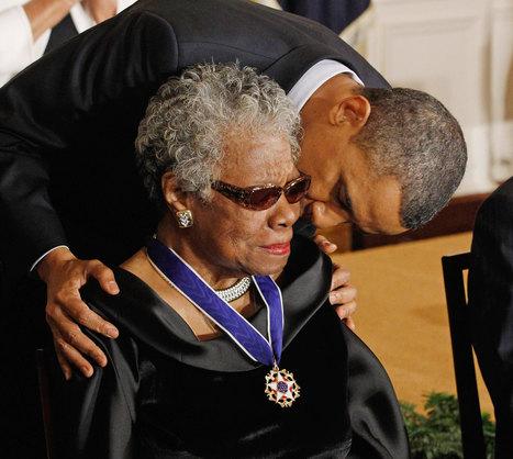 A Beautiful Tribute to Maya Angelou, by Barack Obama | Maya Angelou | Scoop.it