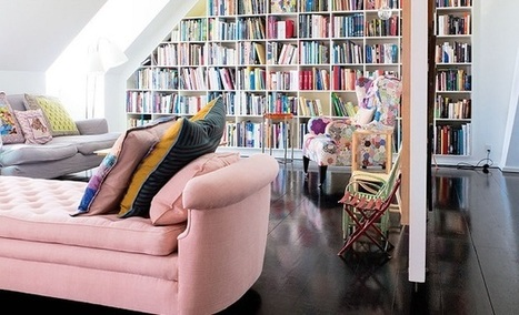 Adorable white home filled with patchwork | Décorations en tous genres | Scoop.it
