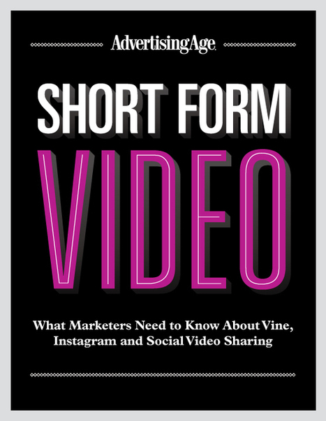 Short-Form Video: Vine, Instagram and Social Video Sharing - AdAge.com | Cool Media | Scoop.it