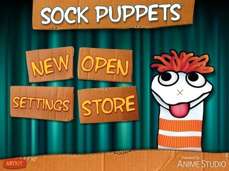 iArt4Kidz: Ditigal Storytelling: Sock Puppets Giggle Factor   TiPS:  Technology in Practice for S-LPs   Scoop.it