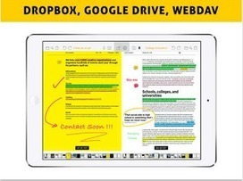 Easy Annotate: A Very Good PDF App for Teachers ~ Educational Technology and Mobile Learning | A random collection of usefulness | Scoop.it