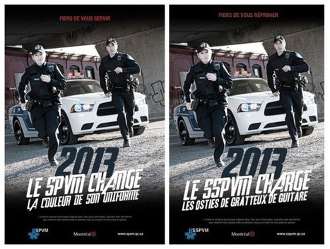 Qui approvisionne le SPVM en uniformes? | Archivance - Miscellanées | Scoop.it
