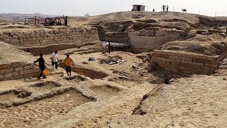 Descubren restos de las murallas blancas de Menfis, capital del antiguo Egipto hace 5.000 años | ArqueoNet | Scoop.it