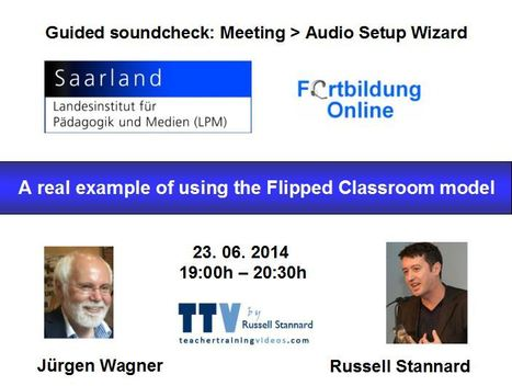 Russell Stannard on the flipped classroom: 23 June | Moodle and Web 2.0 | Scoop.it