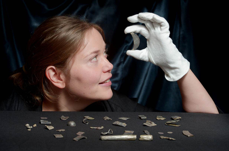 Late Roman and Pictish hacksilver hoard found in Aberdeenshire | LVDVS CHIRONIS 3.0 | Scoop.it