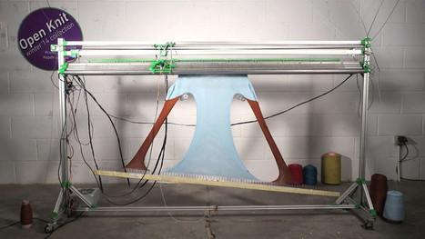 OpenKnit, la máquina que teje ropa a partir de archivos open source | Open Source Hardware News | Scoop.it