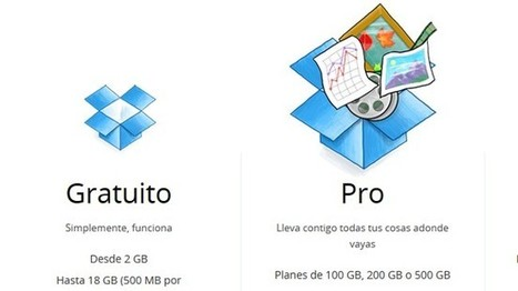 #CloudComputing : #Dropbox dobla el espacio de sus usuarios de pago y lanza un plan de 500 GB | Management & Leadership | Scoop.it