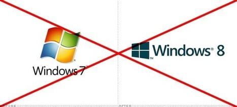 BRANDNEW updates post on the new Windows 8 logo: lightblue | Corporate Identity | Scoop.it