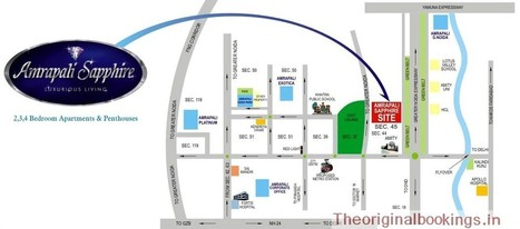 Amrapali Sapphire Call 9650002713 Noida Sector 45   Properties in Noida, Real Estate Consultants, Residential Project   Scoop.it