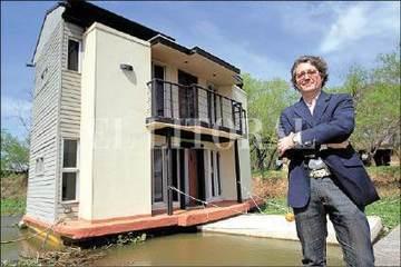 La casa flotante que plantea un nuevo paradigma constructivo - ElLitoral.com   Deporte sostenible UNDAV   Scoop.it
