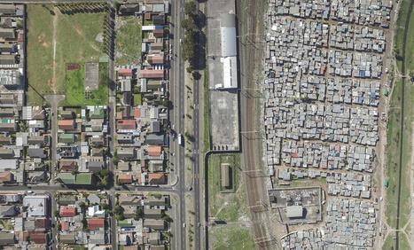(Photos) Un drone pour illustrer la frontière entre riches et pauvres | A.S.2.0 - 12 | Scoop.it