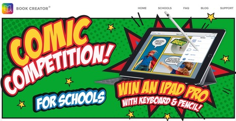 A Comic Creation Contest for Kids - iPad Apps For School  @BookCreatorApp | Edu Technology | Scoop.it