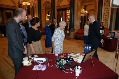Raspberry Pi at Buckingham Palace, 3 million sold | Raspberry Pi | Scoop.it