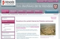 Ouverture du portail communal de la Vendée | CGMA Généalogie | Scoop.it