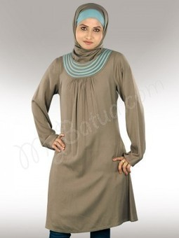 Buy Women Islamic Kurtis, Tunics and Tops Online | MyBatua Muslim Clothing | Abaya Online Collection | Scoop.it