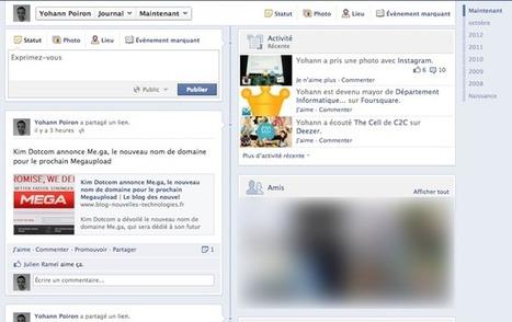 Facebook simplifie le flux de votre timeline avec une nouvelle mise en page en test   CommunityManagementActus   Scoop.it