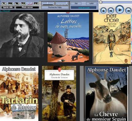 Alphonse Daudet AudioVisuel et Fiches pédagogiques | français langue étrangère | Scoop.it