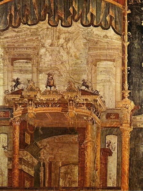 La peinture murale domestique dans la Rome antique | Découvertes archéologiques | Scoop.it