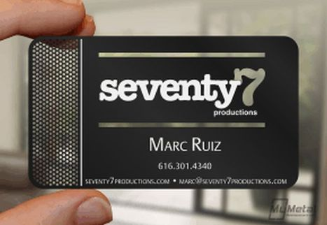 Metal Business Card | Unique Method to Promote Business | Business Promote Idea | Scoop.it
