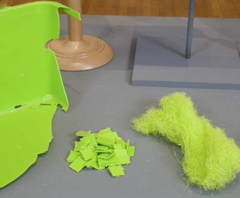 Polyfloss: Creating a new material from waste plastic | The Future of Waste | Scoop.it