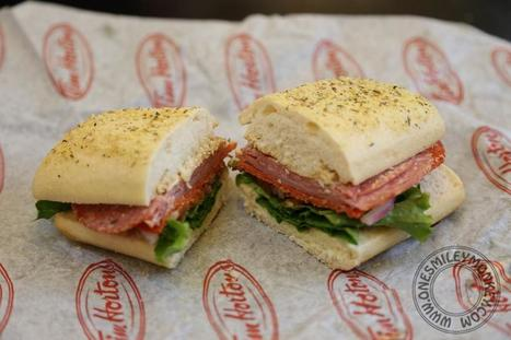 Tim Hortons Extreme Italian Sandwich {Get a FREE $10 Tim Card to Try It!} | Made in Italy Flavors - Italian Recipes | Scoop.it