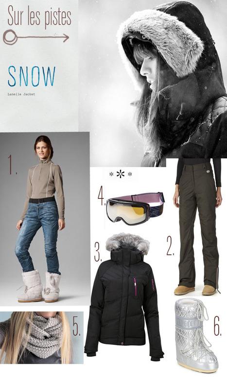 The look : au ski » Au pays des merveilles | monitrices de ski et moniteurs | Scoop.it