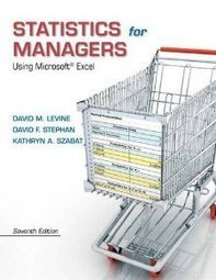 Test Bank For » Test Bank for Statistics for Managers, 7th Edition : Levine Download | Business Statistics Test Bank | Scoop.it