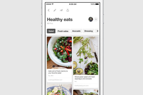 Pinterest Revamps Its Mobile App to Be More 'Useful' | Pinterest | Scoop.it