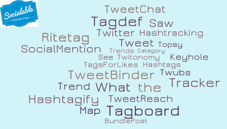 21 of the Best #Hashtag Tools | Online communication & marketing | Scoop.it